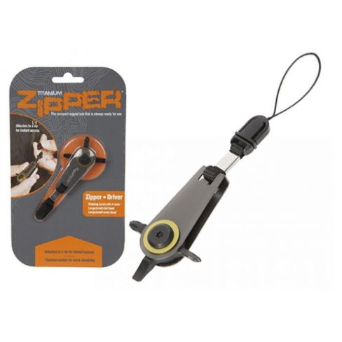Summit Zipper Titanium Phillips/Flat Head Screwdriver Set