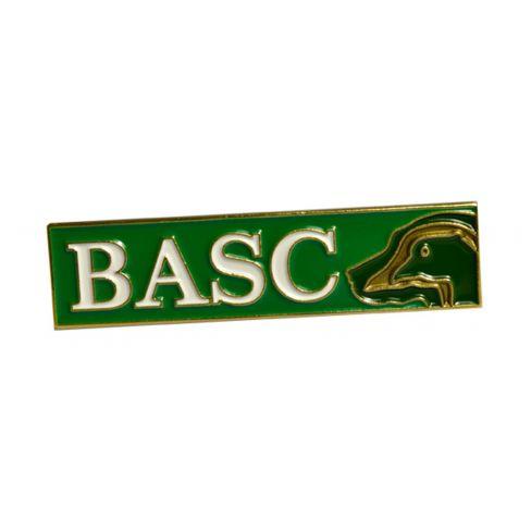 BASC Rectangular Lapel Badge