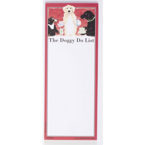 Magnetic Notepad - Doggie Do List