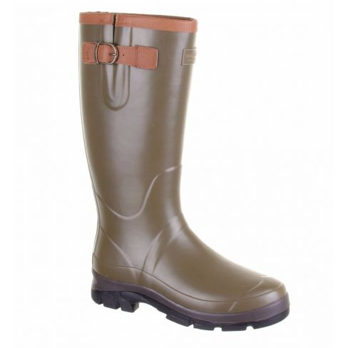 Forest Men's Neoprene and Leather Wellingtons