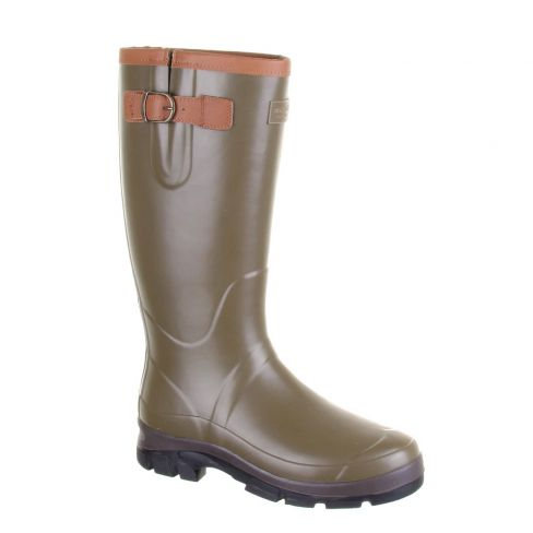 Forest Ladies Neoprene and Leather Wellingtons