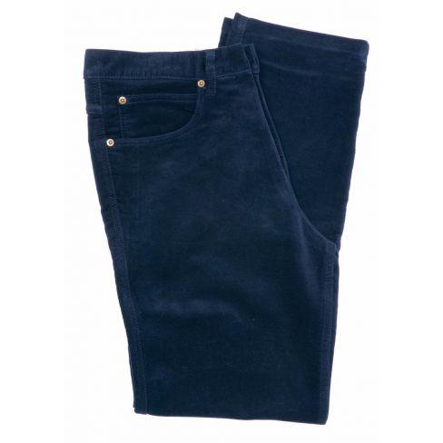 Moleskin Jeans Navy