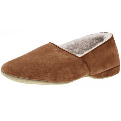 Drapers' Anton Suede Slippers - Mocca