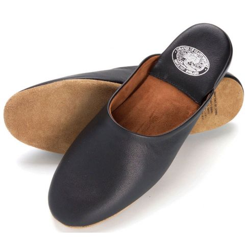 William Leather Slippers