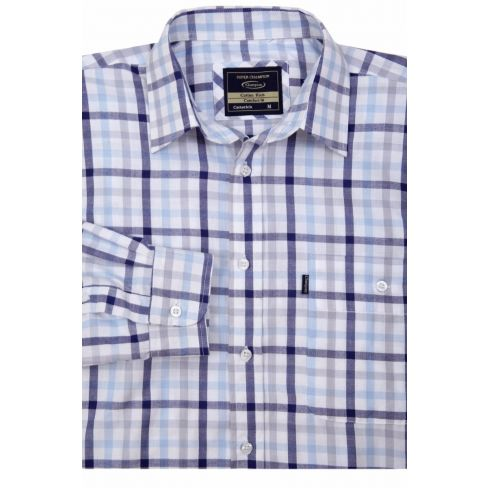 Catterick Shirt - Blue