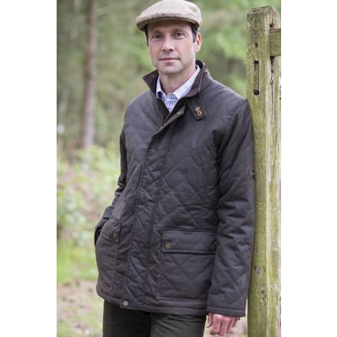 Bepton Wax Quilted Jacket