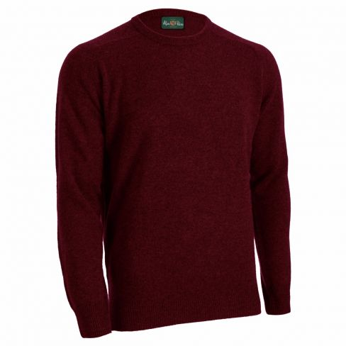 Alan Paine Lambswool Crew Sweater