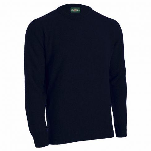 Alan Paine Lambswool Crew Sweater