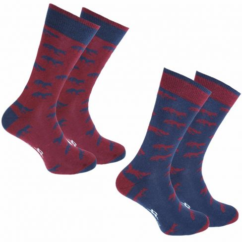 Dress Socks Fox (Pack of 2)