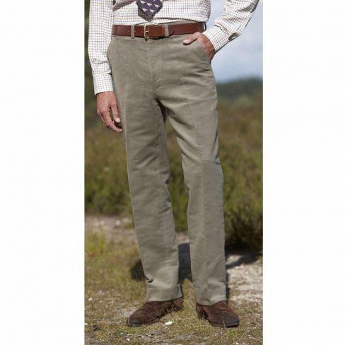 Hoggs of Fife Moleskin Trousers - Lovat