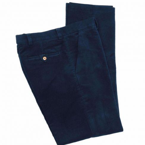 Moleskin Trousers - Navy