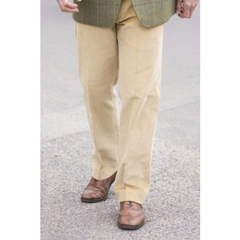 Midweight Pure Cotton Cords - Corn