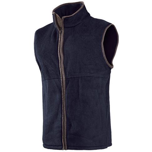 Baleno Harvey Fleece Gilet Navy