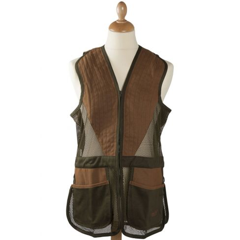 Clay Shooting Vest Olive