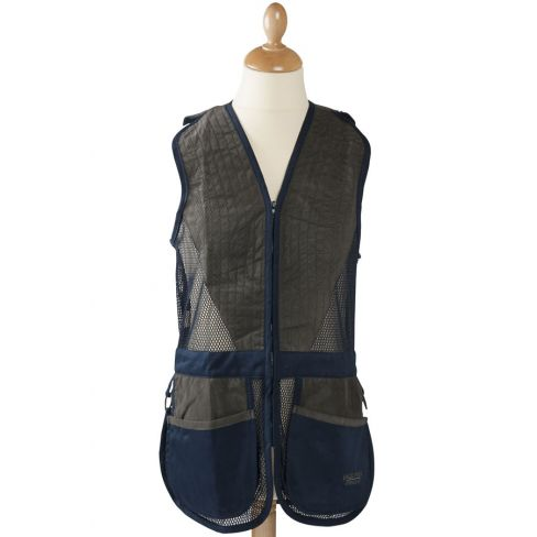 Clay Shooting Vest Navy