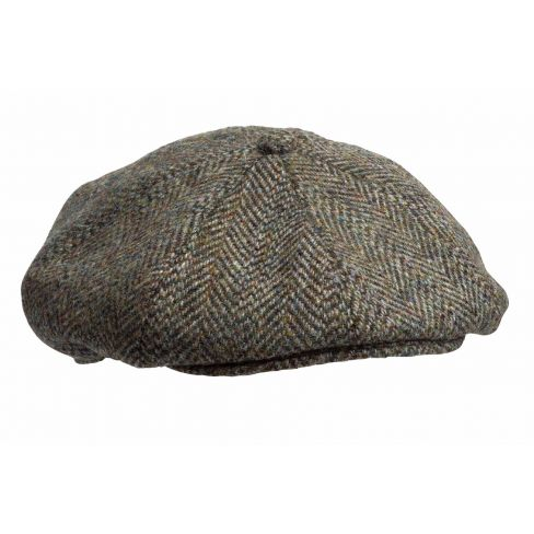 Harris Tweed 8 Piece Cap