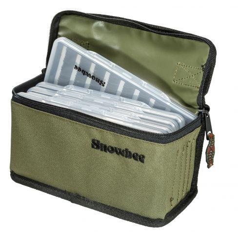 Snowbee Slimline Fly Box and Bag