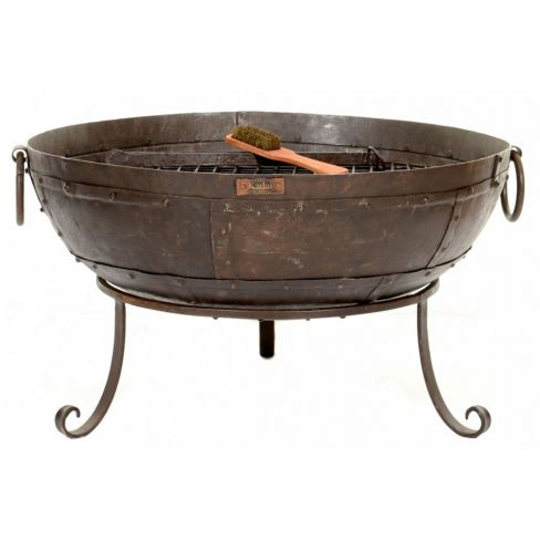 Kadai Fire Bowl with Low Stand