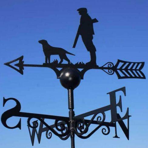 Weathervane Man and Dog