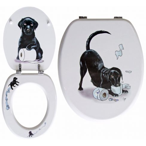 Loo Seat - Labrador - Toilet Seat - Bryn Parry