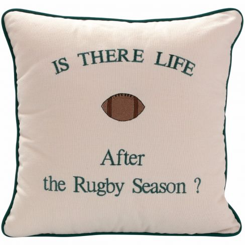 Is There Life After Rugby.... Cushion