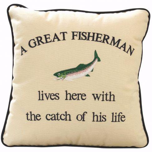 Cushion A Great Fisherman