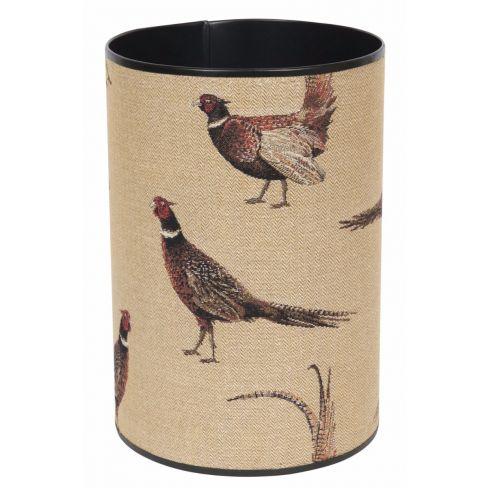 Country Pheasants Waste Paper Bin
