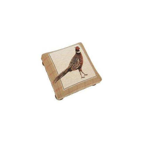 Strutting Pheasant Footstool