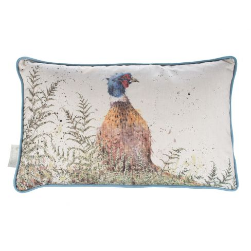 Country Cushion Pheasant and Fern