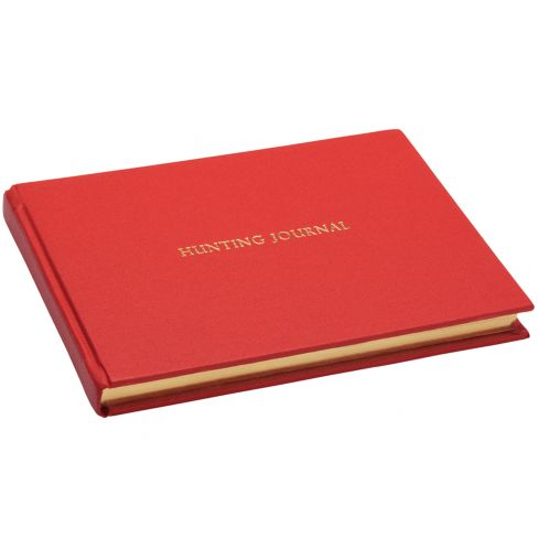 Hunting Journal - Red