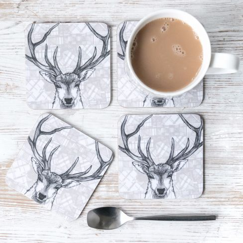 Stag Tablemats x 2