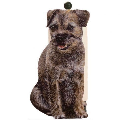Border Terrier Kitchen & Loo Roll Holders