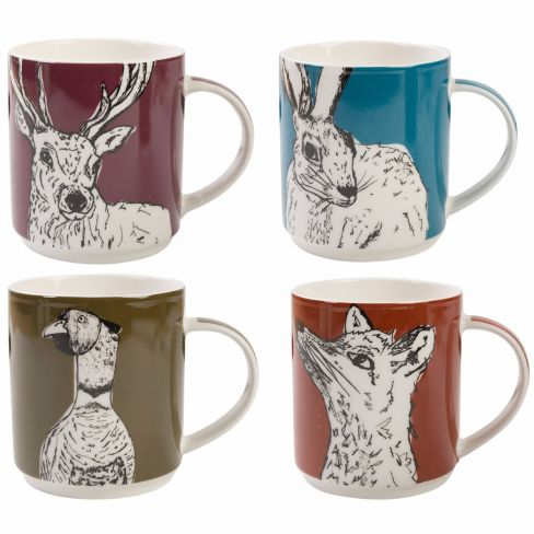 Into The Wild Stacking Mugs