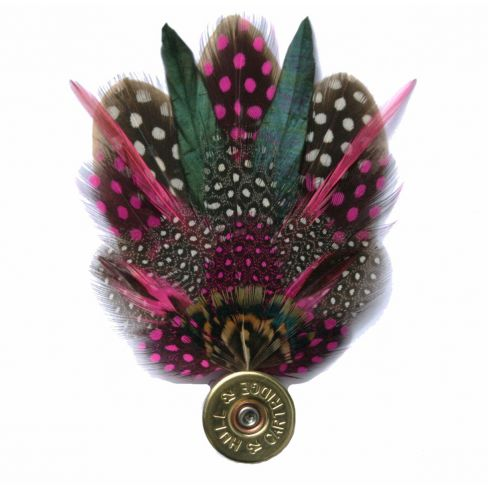 Feather Pin - Pink