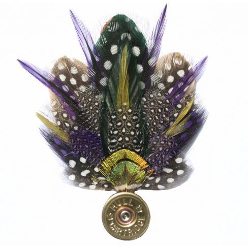 Feather Pin - Purple