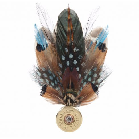 Feather Pin - Teal