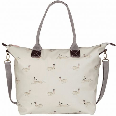 Hare Oilcloth Oundle Tote Bag