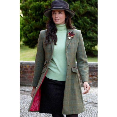 Alan Paine Ladies Combrook Mid Length Coat