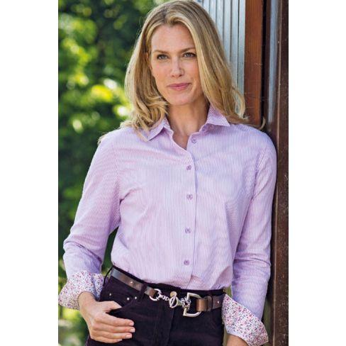Ladies Pinstriped Shirt