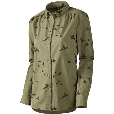 Seeland Ladies Pheasant Shirt Dusky Green