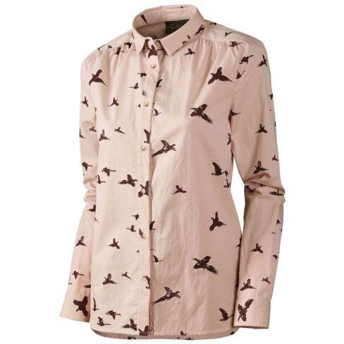 Seeland Ladies Pheasant Shirt Rose