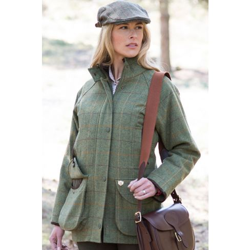Alan Paine Ladies Tweed Shooting Coat