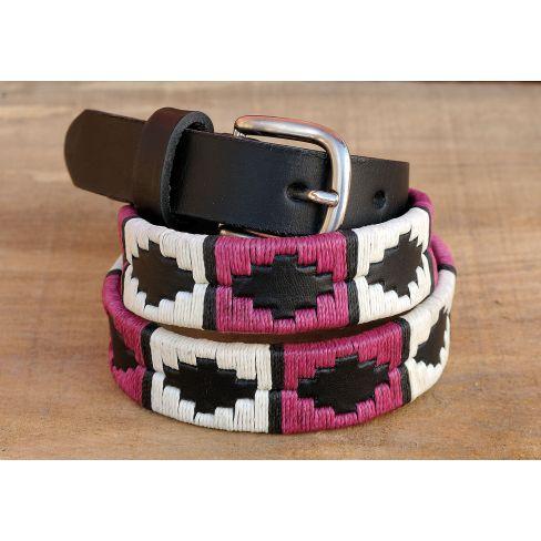 Ladies Polo Belt - Cerise