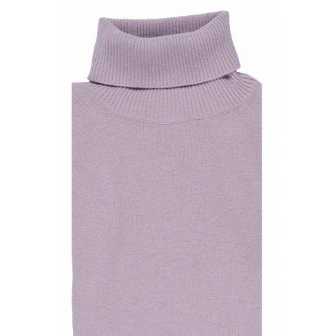 Italian Rollneck Sweater - Rose