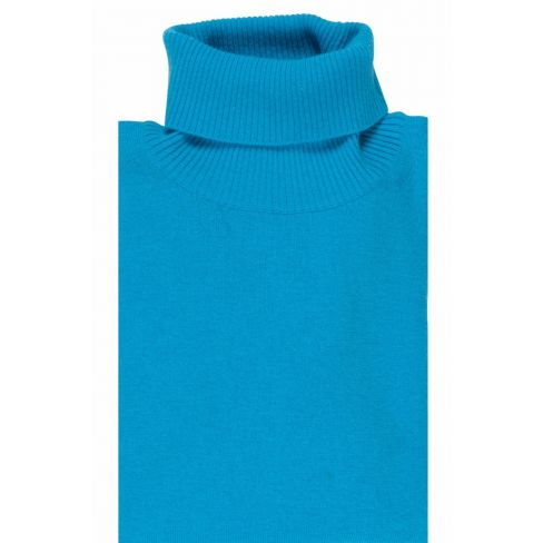 Rollneck Sweaters - Teal