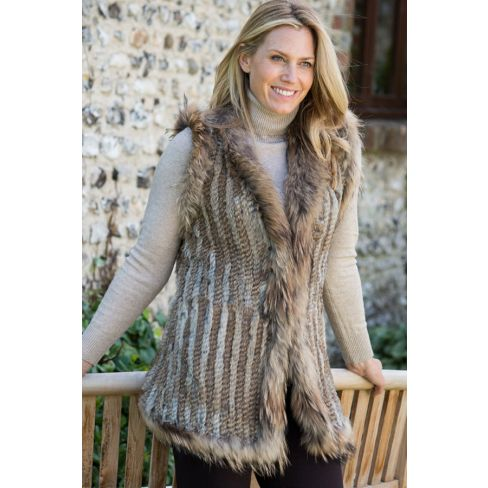 Longer Luxurious Fur Gilet