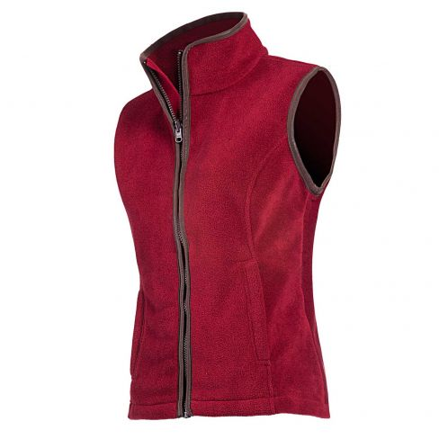 Baleno Sally Fleece Gilet - Red