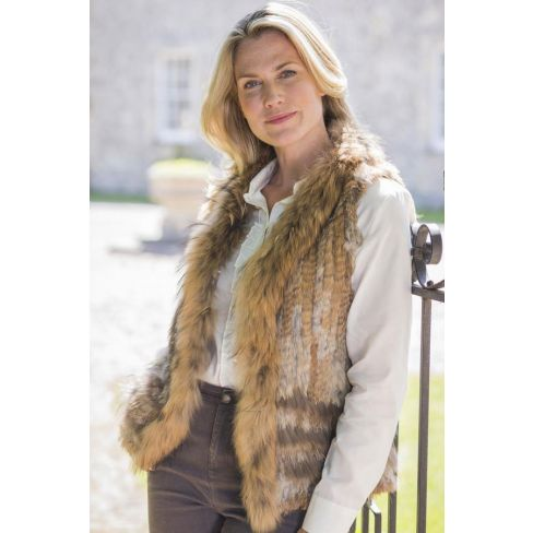 Luxurious Fur Gilet