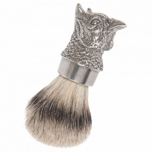 Pheasant Head Badger Shaving Brush
