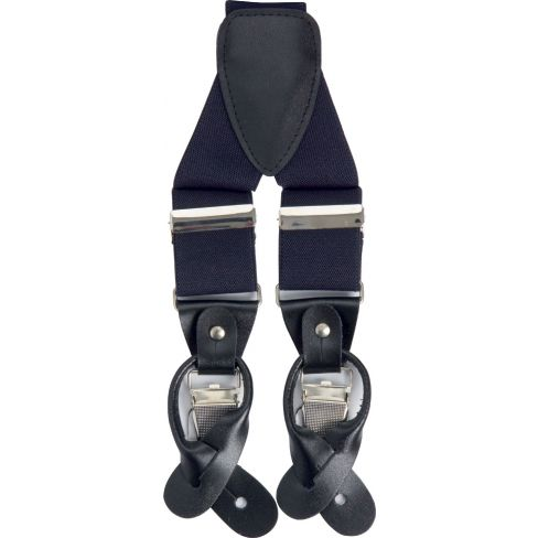 Classic Luxury Braces - Navy